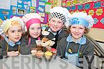 Taking part in the Fairtrade Cake Sale in Cullina National school on Thursday were Juliete Murphy, Niamh Murphy, Stefan Caulfield Dreier and Meabh Coleman Horgan.