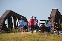 Ariya Jutanugarn (THA) makes her way across the bridge near the tee on 2 during the round 3 of the Volunteers of America Texas Classic, the Old American Golf Club, The Colony, Texas, USA. 10/5/2019.<br /> Picture: Golffile   Ken Murray<br /> <br /> <br /> All photo usage must carry mandatory copyright credit (© Golffile   Ken Murray)