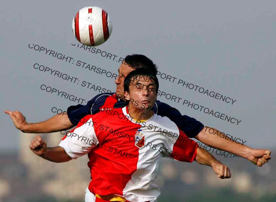 Fudbal, Super liga, sezona 2006/07&amp;#xA;BEZANIJA-VOJVODINA&amp;#xA;DOBRIC SASA&amp;#xA;BEOGRAD, 20.08.2006.&amp;#xA;FOTO: SRDJAN STEVANOVIC<br />
