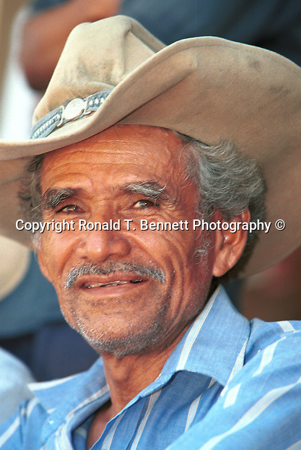 Man with cowboy hat San Salvador El Salvador Central America, Fine Art Photography by Ron Bennett, Fine Art, Fine Art photography, Art Photography, Copyright RonBennettPhotography.com ©