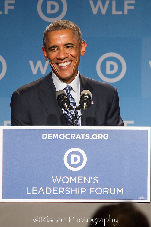 President Obama for Women's Leadership Forum 9.19.14