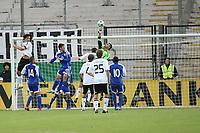 Ariel Harush (ISR) klaert<br /> U21 Deutschland vs. Israel *** Local Caption *** Foto ist honorarpflichtig! zzgl. gesetzl. MwSt. Auf Anfrage in hoeherer Qualitaet/Aufloesung. Belegexemplar an: Marc Schueler, Alte Weinstrasse 1, 61352 Bad Homburg, Tel. +49 (0) 151 11 65 49 88, www.gameday-mediaservices.de. Email: marc.schueler@gameday-mediaservices.de, Bankverbindung: Volksbank Bergstrasse, Kto.: 151297, BLZ: 50960101