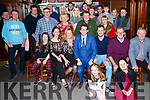 Eoin O'Sullivan Mounthawk Tralee who celebrated his 21st in the Castle Bar,Rock Street,Tralee on Saturday night with his family and friends