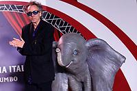 Tim Burton<br /> Rome March 26th 2019. Premiere of the movie 'Dumbo' directed by Tim Burton<br /> photo di Samantha Zucchi/Insidefoto