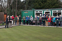 Terminus Bowling Club Opening Day 16th March 2013- 100 Years Centenary