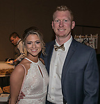 Nicole Mehrer and Bo Cassel during the Big Chefs, Big Gala event at the Grand Sierra Resort in Reno on April 8, 2017.
