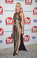 Sarah Jayne Dunn at the TV Choice Awards 2018, The Dorchester Hotel, Park Lane, London, England, UK, on Monday 10 September 2018.<br /> CAP/CAN<br /> &copy;CAN/Capital Pictures