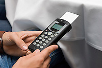 IML Handheld communicator & wireless keypad system enabling audiences to vote electronically and see poll results instantly