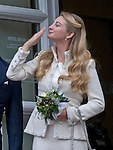 """Wedding of HRH the Hereditary Grand Duke and Countess Stéphanie de Lannoy.Civil ceremony at the Town Hall, City of Luxembourg_19-10-2012.Mandatory credit photo: ©Dias/NEWSPIX INTERNATIONAL..(Failure to credit will incur a surcharge of 100% of reproduction fees)..                **ALL FEES PAYABLE TO: """"NEWSPIX INTERNATIONAL""""**..IMMEDIATE CONFIRMATION OF USAGE REQUIRED:.Newspix International, 31 Chinnery Hill, Bishop's Stortford, ENGLAND CM23 3PS.Tel:+441279 324672  ; Fax: +441279656877.Mobile:  07775681153.e-mail: info@newspixinternational.co.uk"""