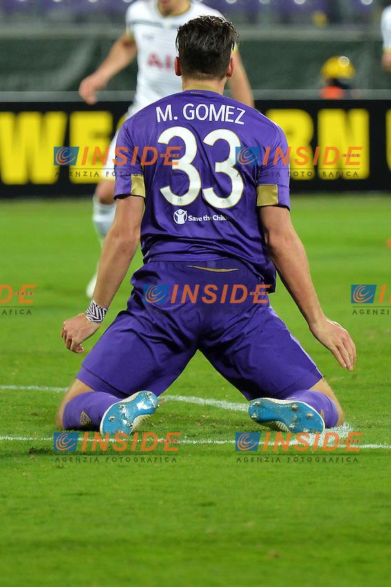 Mario Gomez Fiorentina <br /> Firenze 26-02-2015 Stadio Artemio Franchi Football Calcio Europa League Fiorentina - Tottenham. Foto Andrea Staccioli / Insidefoto