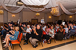 WATERBURY, CT. 18 July 2019-071819 - Democratic committee members and other democrats applaud, during the Waterbury Democratic Town Committee meeting of picking its slate of candidates for this years elections at the Waterbury Portuguese Sport Club in Waterbury on Thursday. Bill Shettle Republican-American