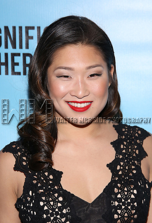 Jenna Ushkowitz attends the Broadway Opening Night performance for 'Significant Other' at the Booth Theatre on March 2, 2017 in New York City.