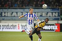 VOETBAL: SC HEERENVEEN: Abe Lenstra Stadion, 17-02-2012, SC-Heerenveen-NAC, Eredivisie, Eindstand 1-0, Michel Breuer, Florian Jozefzoon, ©foto: Martin de Jong.