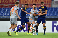 Fredrik Gulbrandsen of Istanbul Basaksehir , Juan Jesus of AS Roma , Irfan Kahveci of Istanbul Basaksehir , Bryan Cristante of AS Roma <br /> Roma 19-9-2019 Stadio Olimpico <br /> Football Europa League 2019/2020 <br /> AS Roma -  Istanbul Basaksehir <br /> Photo Andrea Staccioli / Insidefoto