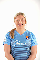 Belmar, NJ - Wednesday March 29, 2017: Madison Tiernan poses for photos at the Sky Blue FC team photo day.