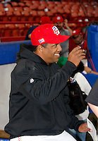 Eduardo Perez / Puerto Rico manager - 2009 Caribbean Series, Mexicali..Photo by:  Bill Mitchell/Four Seam Images