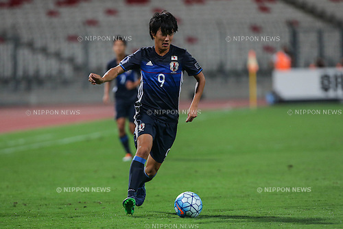 Koki Ogawa (JPN), OCTOBER 30, 2016 - Football / Soccer : AFC U-19 Championship Bahrain 2016 Final match between Japan 0(5-3)0 Saudi Arabia at Bahrain National Stadium in Riffa, Bahrain. (Photo by AFLO)