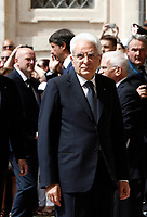 The Italian President Sergio Mattarella waits for Pope Francis on the occasion of their official meeting at the Quirinale presidential palace, in Rome, on June 10, 2017.UPDATE IMAGES PRESS/Isabella Bonotto<br /> STRICTLY ONLY FOR EDITORIAL USE