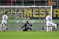 Danilo D'Ambrosio of Internazionale scores goal of 1-0 <br /> Milano 17-2-2019 Stadio Giuseppe Meazza in San Siro Football Serie A 2018/2019 FC Internazionale  - UC Sampdoria Foto Image Sport / Insidefoto