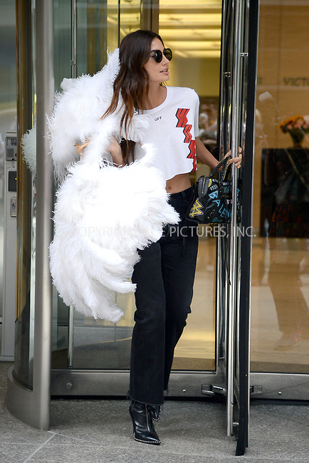 www.acepixs.com<br /> August 29, 2017 New York City<br /> <br /> Lily Aldridge attending the fittings for the Victoria's Secret Fashion Show 2017 on August 29, 2017 in New York City.<br /> <br /> Credit: Kristin Callahan/ACE Pictures<br /> <br /> <br /> Tel: (646) 769 0430<br /> e-mail: info@acepixs.com