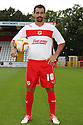Filipe Morais of Stevenage. Stevenage FC photoshoot -  Lamex Stadium, Stevenage . - 16th August, 2012. © Kevin Coleman 2012