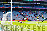 David Clifford Kerry scores his side's first goal against  Derry in the All-Ireland Minor Footballl Final in Croke Park on Sunday.