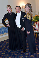 www.acepixs.com<br /> <br /> February 8 2018, Vienna<br /> <br /> (L-R) Actress Melanie Griffith, Richard Lugner and Simona  attending the Vienna Opera Ball on February 8 2018 in Vienna, Austria<br />  <br /> By Line: Famous/ACE Pictures<br /> <br /> <br /> ACE Pictures Inc<br /> Tel: 6467670430<br /> Email: info@acepixs.com<br /> www.acepixs.com