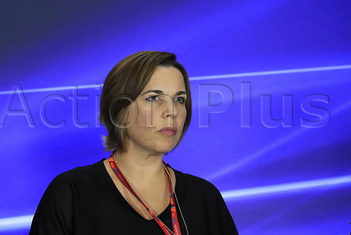 1st September 2017, Autodromo Nazionale Monza, Monza; Italian Grand Prix, Friday FIA Team Press Conference; Claire Williams - Deputy Team Principal of Williams Martini Racing