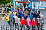 The Tom Crean Endurance Walk  attracted a huge group of walkers, over 200, to this years event, pictured last Saturday morning are just some of the entrants who were bused from Anascaul, to the foot of Mount Brandon to begin the 10 hour trek over the mountain, onto Conor pass and finishing back at the South Pole Inn in Anascaul.