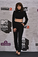 Charli XCX<br /> MTV EMA Awards 2017 in Wembley, London, England on November 12, 2017<br /> CAP/PL<br /> &copy;Phil Loftus/Capital Pictures