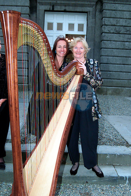Denise Kelly and Ellen Cranitch at the rededication of St. Peter's Church of Ireland..Picture: Paul Mohan/Newsfile