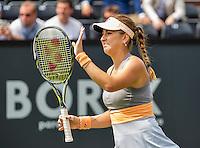 Den Bosch, Netherlands, 07 June, 2016, Tennis, Ricoh Open, Belinda Bencic (SUI)<br /> Photo: Henk Koster/tennisimages.com