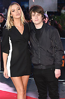 Roxy Horner &amp; Jake Bugg arriving for the &quot;Rampage&quot; premiere at the Cineworld Empire Leicester Square, London, UK. <br /> 11 April  2018<br /> Picture: Steve Vas/Featureflash/SilverHub 0208 004 5359 sales@silverhubmedia.com