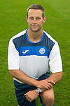 St Johnstone FC Photocall, 2015-16 Season....03.08.15<br /> Alex Headrick, Sports Scientist<br /> Picture by Graeme Hart.<br /> Copyright Perthshire Picture Agency<br /> Tel: 01738 623350  Mobile: 07990 594431