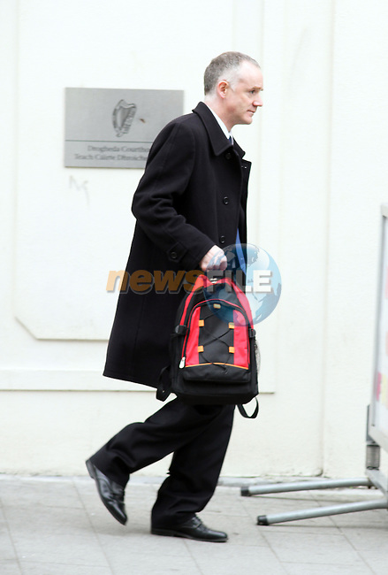 Peter Murphy,  director of the Creevelea Nursing Home in Laytown leaving Drogheda Courthouse today after the case was adjourned for three weeks...(Photo credit should read Jenny Matthews www.newsfile.ie)....This Picture has been sent you under the conditions enclosed by:.Newsfile Ltd..The Studio,.Millmount Abbey,.Drogheda,.Co Meath..Ireland..Tel: +353(0)41-9871240.Fax: +353(0)41-9871260.GSM: +353(0)86-2500958.email: pictures@newsfile.ie.www.newsfile.ie.