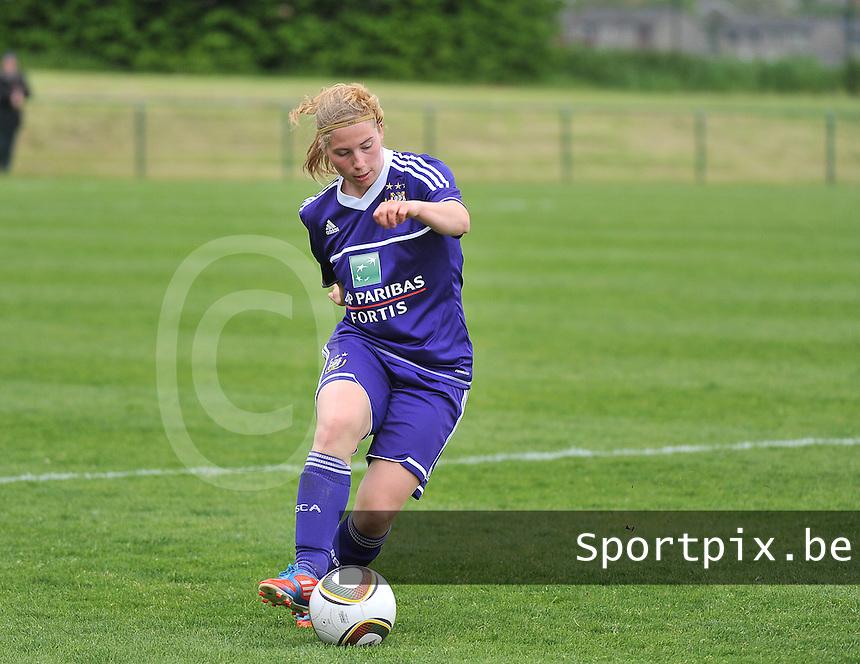RSC Anderlecht Dames - Ajax Amsterdam : Jana Coryn.foto DAVID CATRY / Nikonpro.be