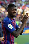 53e Trofeu Joan Gamper.<br /> Presentation 1st team FC Barcelona.<br /> Ousmane Dembele.
