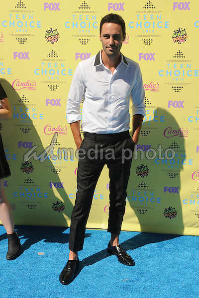 16 August 2015 - Los Angeles, California - Richard Brancatisano. Teen Choice Awards 2015 - Arrivals held at the USC Galen Center. Photo Credit: Byron Purvis/AdMedia