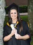 28/8/2015    Attending the UL conferring recently was Alana Frattaroli, Garryowen who was conferred with a Bachelor of Science in Sport and Exercise Science. Alana is a shot putter with Limerick AC.<br /> Photograph Liam Burke/Press 22