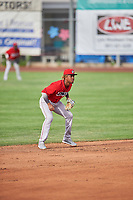Adrian Rondon (37) of the Orem Owlz during the game against the Ogden Raptors at Lindquist Field on June 20, 2019 in Ogden, Utah. The Owlz defeated the Raptors 11-8. (Stephen Smith/Four Seam Images)