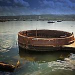 USS Arizona remains at Pearl Harbor, Hawaii