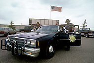 May 6th to 13th, 1985 in Navajo Reserve, AZ.  The local Police are all of the Navajo origin.