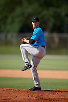 Miami Marlins pitcher Brett Graves (20) during a Minor League Spring Training Intrasquad game on March 28, 2019 at the Roger Dean Stadium Complex in Jupiter, Florida.  (Mike Janes/Four Seam Images)