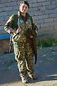 Irak 2015<br />Dersim, first Yezidi woman joining the PKK fighters. Today, she is a Yezidi fighters of &Ecirc;zidxan Women&rsquo;s units ( YI&Ecirc; )<br />Irak 2015<br />Dersim, premiere femme yezidi a rejoindre les combattants du PKK. Aujourd&rsquo;hui elle est cmbattante de l&rsquo; Yi&Ecirc;