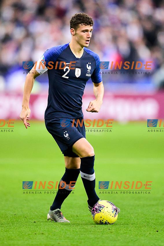 Benjamin Pavard (Fra) <br /> Paris 20191114 Stade De France  <br /> Football France - Moldavia <br /> Qualification Euro 2020 <br /> Foto JB Autissier / Panoramic/Insidefoto <br /> ITALY ONLY
