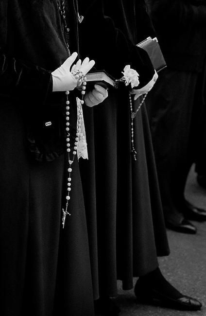 Semana Santa (Holy Week), Valladolid, Spain. (please see gallery description).