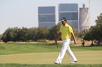Felipe Aguilar (CHI) walks off the 5th green during Friday's Round 3 of the Commercial Bank Qatar Masters 2013 at Doha Golf Club, Doha, Qatar 25th January 2013 .Photo Eoin Clarke/www.golffile.ie