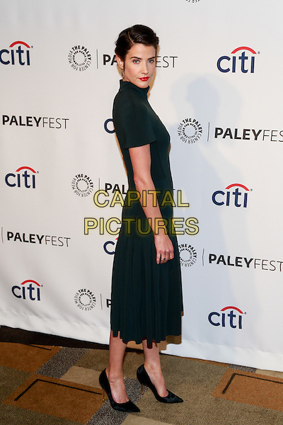 HOLLYWOOD, CA - 03, 15: Cobie Smulders at 31st Annual Paleyfest: How I Met Your Mother Series Farewell held at Dolby Theatre in Hollywood, CA on March, 15, 2014.  <br /> CAP/MPI/RTN/FISH<br /> &copy;RTNFisher/MediaPunch/Capital Pictures