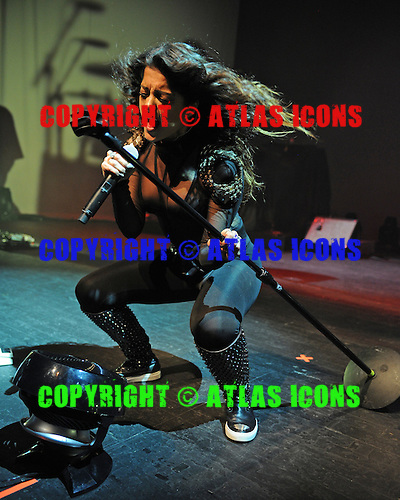 MIAMI BEACH, FL - SEPTEMBER 27 : Bebe Rexha performs at The Fillmore on September 27, 2015 in Miami Beach, Florida. Credit Larry Marano © 2015