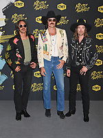06 June 2018 - Nashville, Tennessee - Cameron Duddy, Mark Wystrach, and Jess Carson of Midland. 2018 CMT Music Awards held at Bridgestone Arena.  <br /> CAP/ADM/LF<br /> &copy;LF/ADM/Capital Pictures